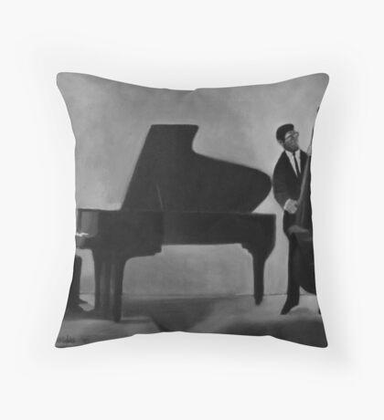 Jazz duo Throw Pillow