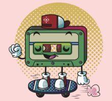 Cassette Love One Piece - Long Sleeve