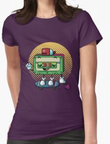 Cassette Love Womens Fitted T-Shirt