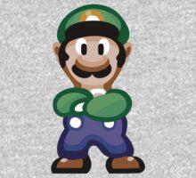 Luigi 16 Bit Kids Clothes