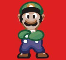 Luigi 16 Bit Baby Tee