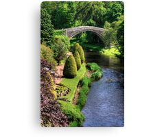 Bridge over the Doon Canvas Print