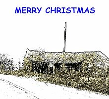 MERRY CHRISTMAS by ANNETTE HAGGER