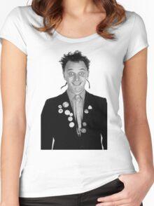 Darling Fascist Bully boy Women's Fitted Scoop T-Shirt