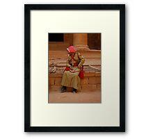 Petra Police Framed Print
