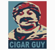 Cigar Guy  by Fred Seghetti