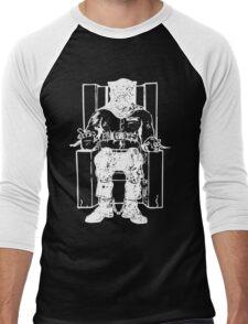 Death Row (White Chair) Men's Baseball ¾ T-Shirt
