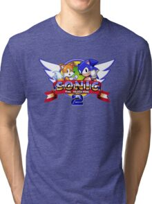Sonic & Tails Tri-blend T-Shirt