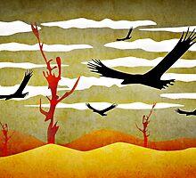 Eagles Flying by DFLC Prints