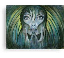 Day dreamer-blue mood Canvas Print