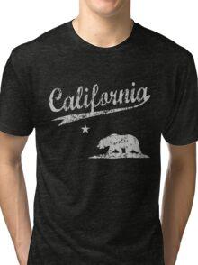 Sporty California Bear Tri-blend T-Shirt