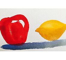 Apples and... Lemons?  Photographic Print