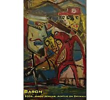 BARON Photographic Print