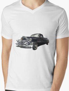 Cadillac Boyer Car Mens V-Neck T-Shirt