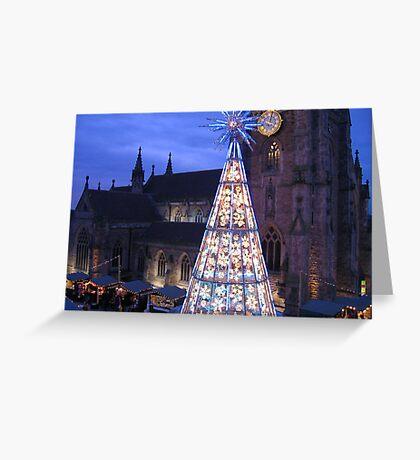 Christmas in Birmingham Greeting Card