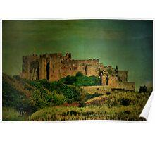 Bamburgh Castle #3 Poster