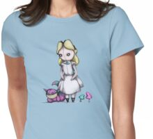 Plush Alice Womens Fitted T-Shirt