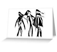 Abstract People Greeting Card
