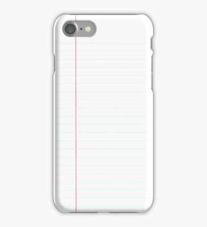 Sheet Of Paper iPhone Case/Skin