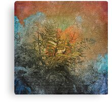 Nature Collage Print  Canvas Print