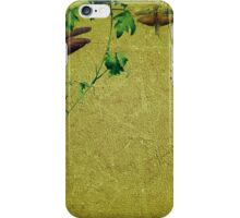 Plants and Insects Composition iPhone Case/Skin