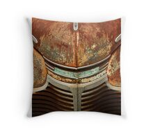 The Face Of Age Throw Pillow