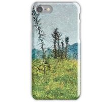 Grunge Style Nature Artwork iPhone Case/Skin