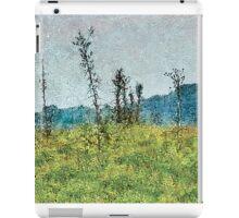 Grunge Style Nature Artwork iPad Case/Skin