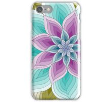 Monroe Purple Teal Olive iPhone Case/Skin