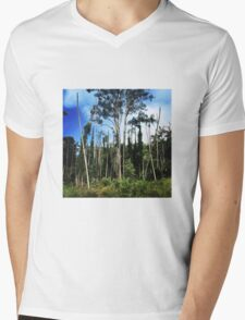 Topless Palms & Paperbacks Mens V-Neck T-Shirt