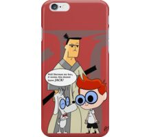 When Time Travelers Meet iPhone Case/Skin