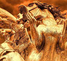 Restraining Pegasus by Nigel Fletcher-Jones
