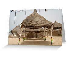 Under the Hot African Sun Greeting Card