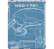 U.S.S. Enterprise Blueprints iPad Case/Skin