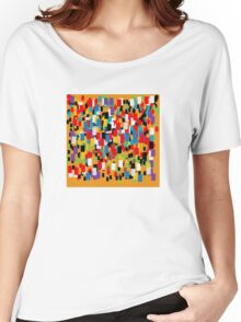 Abstract mural Women's Relaxed Fit T-Shirt