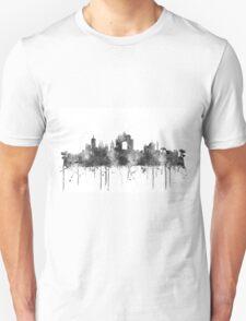Wellington, New Zealand Skyline B&W T-Shirt