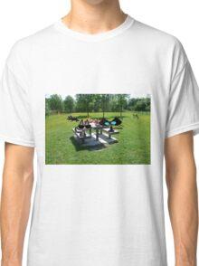 Cats At A PicNic Classic T-Shirt