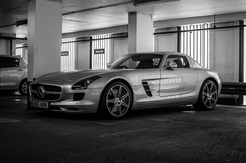Mercedes benz sls amg posters by mikaphotography redbubble for Mercedes benz poster