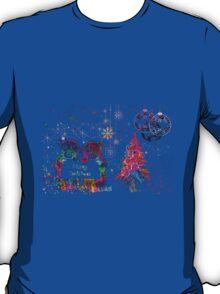 Merry Christmas. T-Shirt