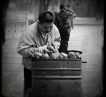 Potato Guy - Ningbo, China by Robert Baker