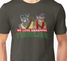 We love smashing Turles! Unisex T-Shirt