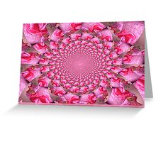 Kaleidoscope for Breast Cancer Awareness in October Greeting Card