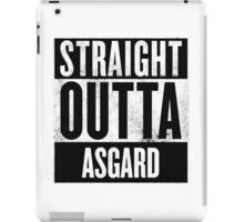 STRAIGHT OUTTA ASGARD iPad Case/Skin
