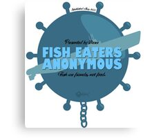 Fish Eaters Anonymous Canvas Print