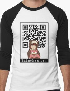 Lainchan QR Men's Baseball ¾ T-Shirt