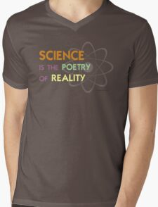 Science is the Poetry of Reality Mens V-Neck T-Shirt