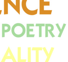 Science is the Poetry of Reality Sticker