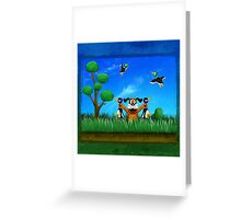 Duck Hunt! Greeting Card