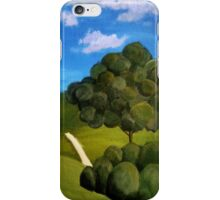 An Empty Footpath iPhone Case/Skin