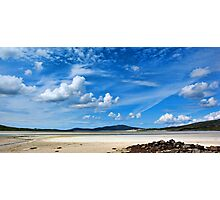 South Harris Clouds Photographic Print